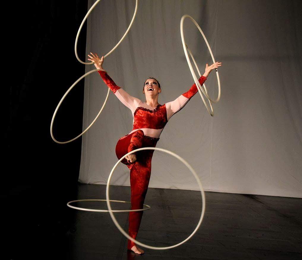 Learn Circus Hoop Skills!